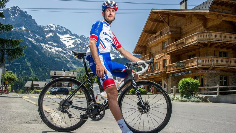 Sébastien Reichenbach: «Je ne suis pas loin de la forme que je détenais lors du Giro 2018»