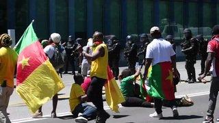 Genève: confrontation entre police et manifestants camerounais