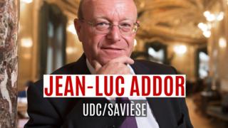 Le bilan de Jean-Luc Addor en un clin d'oeil