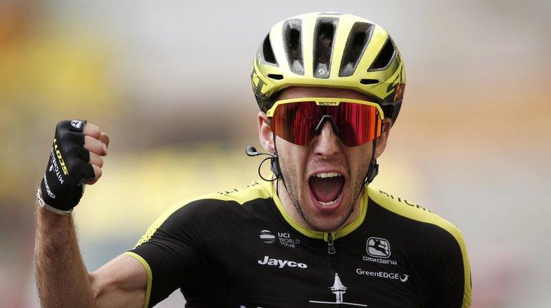 Simon Yates a remporté la 15e étape du Tour de France dimanche.