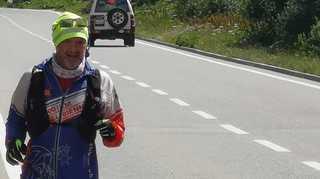 Course à pied: David Fournier poursuit sa course vers Le Bouveret malgré les crampes