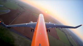 Inspiré des ailes de l'albatros, un avion d'Airbus limite les effets des turbulences