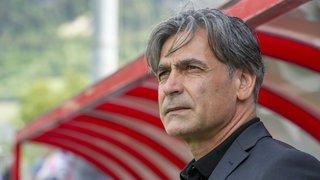 Football: Maurizio Jacobacci à Bellinzone