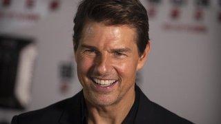 Etats-Unis: Tom Cruise présente la bande-annonce de «Top Gun» à San Diego