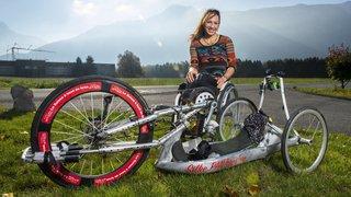 L'athlète paraplégique Silke Pan donnera une allocution pleine d'espoir à Fully