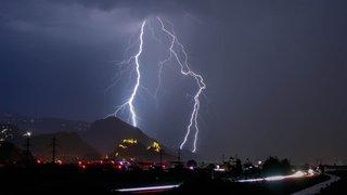 Météo: des orages violents ont balayé la Suisse dans la nuit de dimanche à lundi