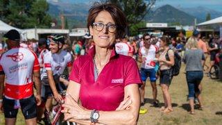 Cyclosportive des vins du Valais: Baptême du feu réussi pour Patricia Gacond