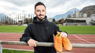 Football: Florian Berisha s'engage au Martigny-Sports