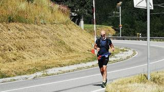 Course à pied: le Nendard David Fournier toujours en course vers le Bouveret, malgré les péripéties de la nuit