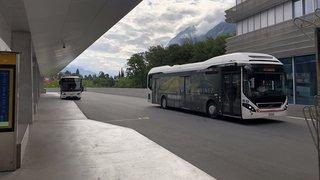 Sierre: de nouveaux horaires pour les lignes de bus 3 et 4