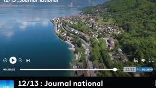 St-Gingolph: France 3 met en avant sa particularité franco-suisse