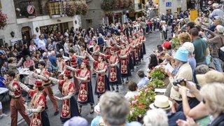 Evolène: La fête de la mi-été et les groupes des CIME ont égayé les rues