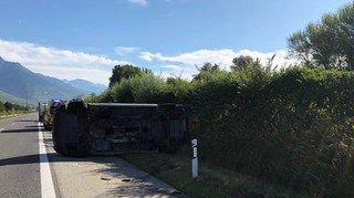 Ardon: un automobiliste perd la vie sur l'autoroute A9
