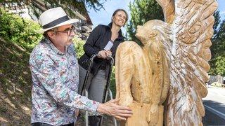 Sculptures sur bois: la malice de Daniel Rausis au service de l'art