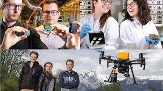 Les start-up de la Haute école d'ingénierie du Valais cartonnent au niveau Suisse