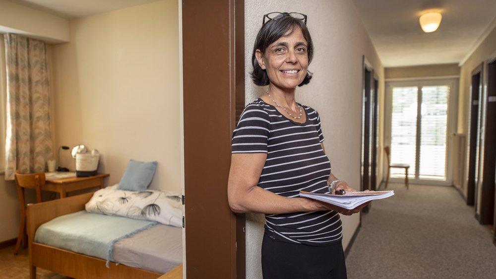 Anne Mayoraz, directrice du nouveau Foyer de la Sitterie, appréhende avec bienveillance cette nouvelle année scolaire.