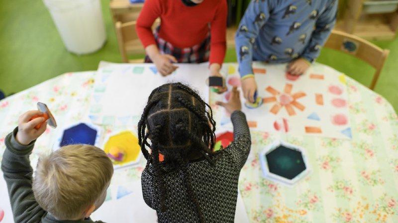 Les enfants qui ne parlent pas suffisamment bien l'allemand devront suivre des cours. (illustration)