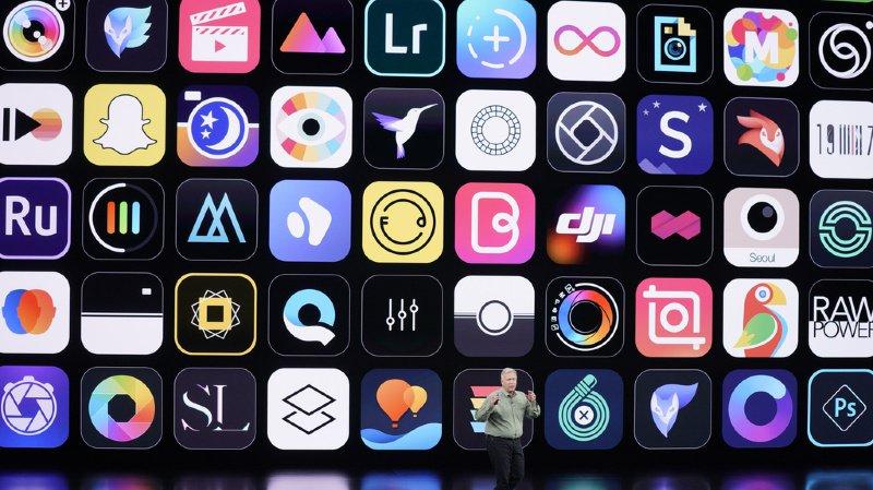 Les jeux Arcade seront disponibles uniquement sur les appareils Apple (illustration).