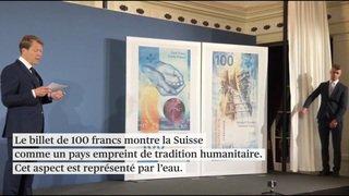La Banque nationale présente le nouveau billet de 100 francs