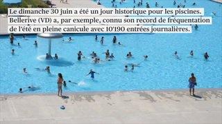 Eté 2019: fréquentation en baisse dans les piscines romandes