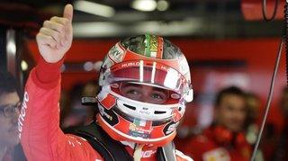 Formule 1: Charles Leclerc en pole position à Monza