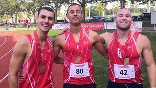 Athlétisme: du bronze et un nouveau record personnel