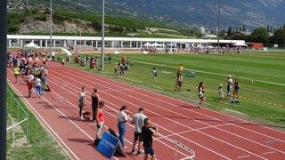 Athlétisme: le CA Sierre a étrenné son nouvel écrin à Ecossia