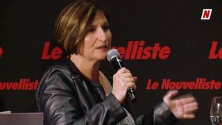 Fédérales 2019: face à face sur l'AVS entre Carole Furrer PDC et Christophe Claivaz PLR