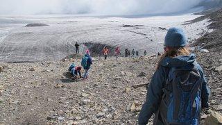 Crans-Montana: les élèves à la découverte de la Plaine Morte