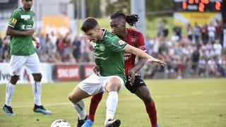 32e finale de la Coupe Suisse de Football: FC Monthey contre FC Saint-Gall en images
