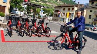 La ville de Martigny mise sur les vélos en libre-service