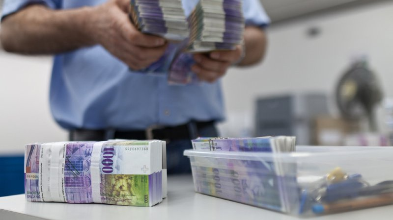 Contrefaçon: les billets de banque suisses sont de moins en moins copiés