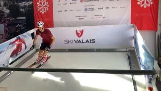 Les ovnis de la Foire du Valais (partie 3): skier à la Foire, dire toute la vérité dans la boîte à questions et une arvine transfrontalière