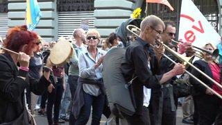 Berne: près de 60'000 personnes à la manifestation pour le climat