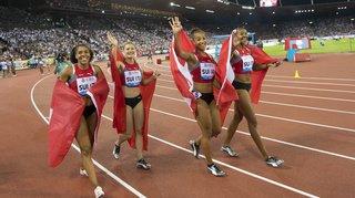 Athlétisme – Mondiaux de Doha: les Suissesses filent en finale du 4x100 m et obtiennent leur ticket olympique