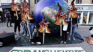 De Canberra à Londres en passant par Istanbul: la grève mondiale pour le climat en images