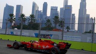 Formule 1: Leclerc en pole devant Hamilton au Grand Prix de Singapour