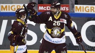 Hockey – National League: Genève surprend le champion, Bienne leader et roi des pénos