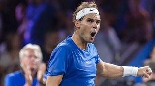 Tennis - Laver Cup: Rafael Nadal s'impose face à Milos Raonic