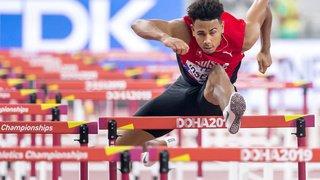Athlétisme – Mondiaux de Doha: Jason Joseph éliminé en demi-finales du 110 m haies