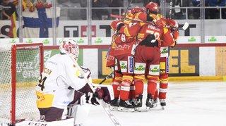 Hockey - National League: Bienne conforte sa place de leader, Fribourg se rebiffe