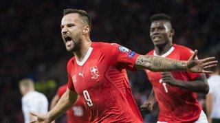 Football - Euro 2020: la Suisse domine l'Irlande après 45 minutes