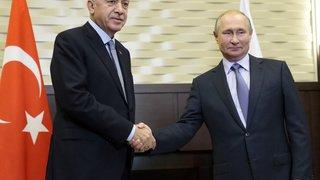 Syrie: Erdogan annonce un «accord historique» entre la Turquie et la Russie