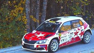 Un premier podium pour le pilote de Verbier Mike Coppens au rallye du Suran