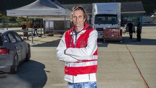 Daniel Hauenstein, boss des parcs d'assistance sur le Rallye international du Valais. On le surnommait le bull dog