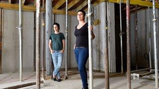 Céline Guibat et Carole Pont, bâtisseuses de partage