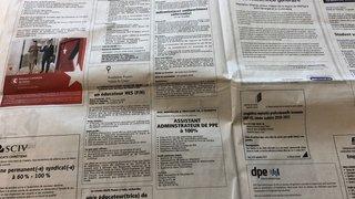 Valais: le taux de chômage atteint 2,7%