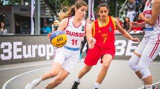 Sur sa route vers les Jeux olympiques, le basket 3x3 fait une halte à Troistorrents