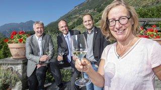 Des vins labellisés marque Valais