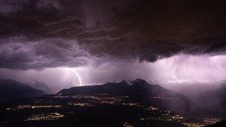 Les orages violents en Valais: un danger si difficile à gérer